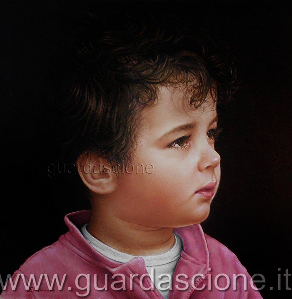 Fabuleux QUADRI e Ritratti di bambini Dipinti IA71