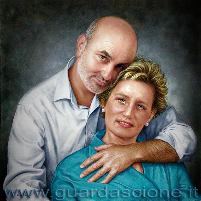 Ritratti di coppia - Foto di innamorati a letto ...
