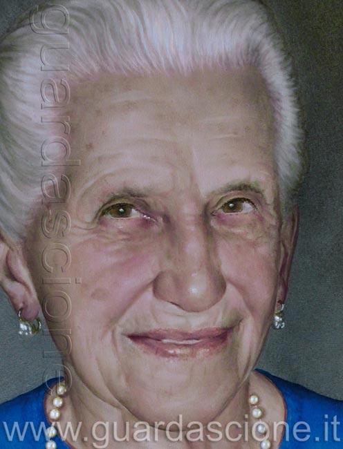 Ritratto di vecchia signora su commissione